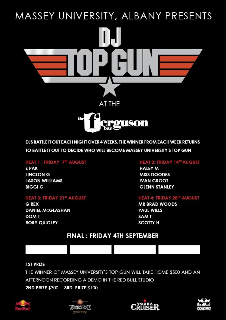 TOP GUN @ Ferguson Bar - Aug 21 2009